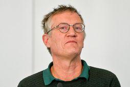 Anders Tegnell sóttvarnalæknir Svíþjóðar.