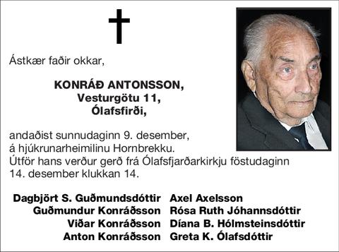 Konráð Antonsson,