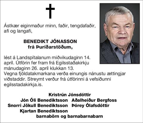 Benedikt Jónasson