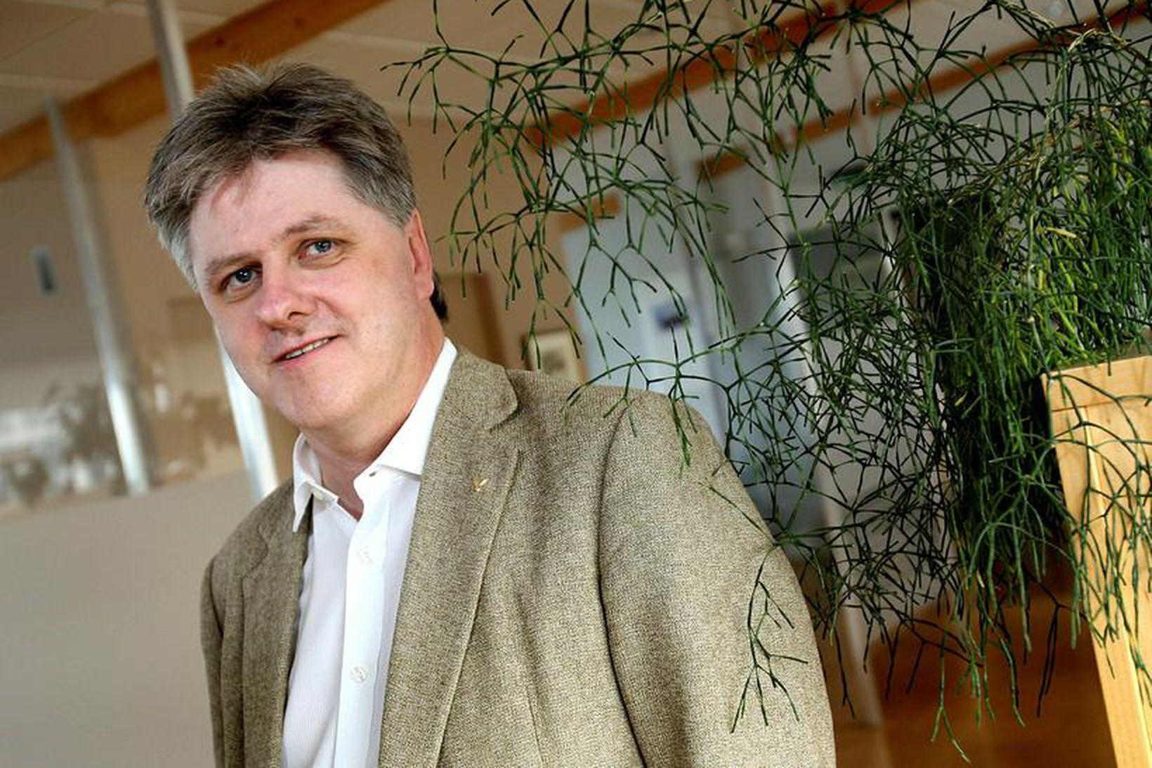 Benedikt Jóhannsson, formaður Viðreisnar.
