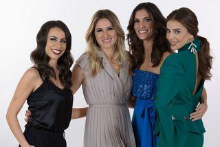 Filomena Cautela, Sílvia Alberto, Daniela Ruah og Catarina Furtado.