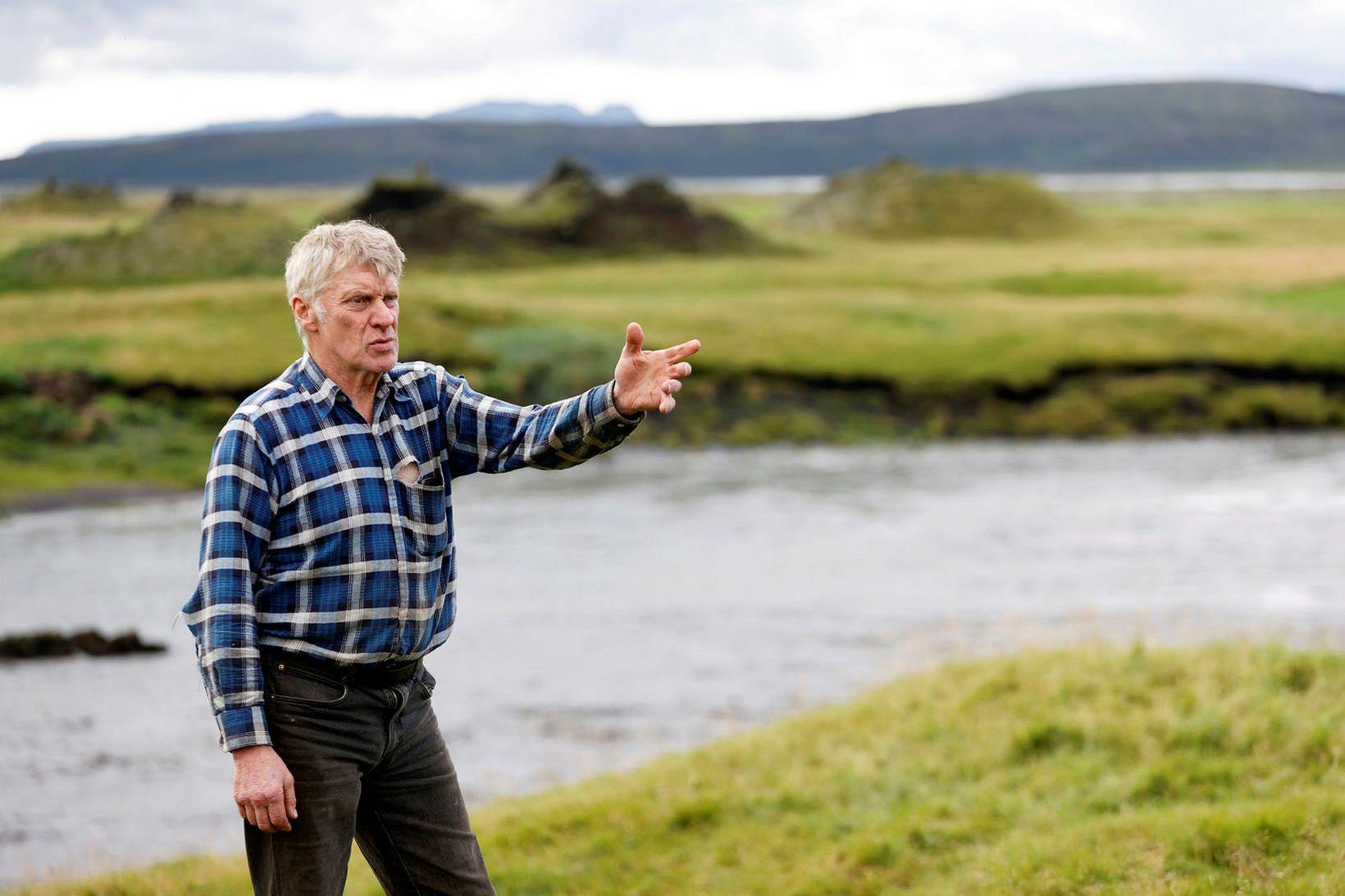 Gísli Halldór Magnússon, bóndi á Ytri-Ásum.