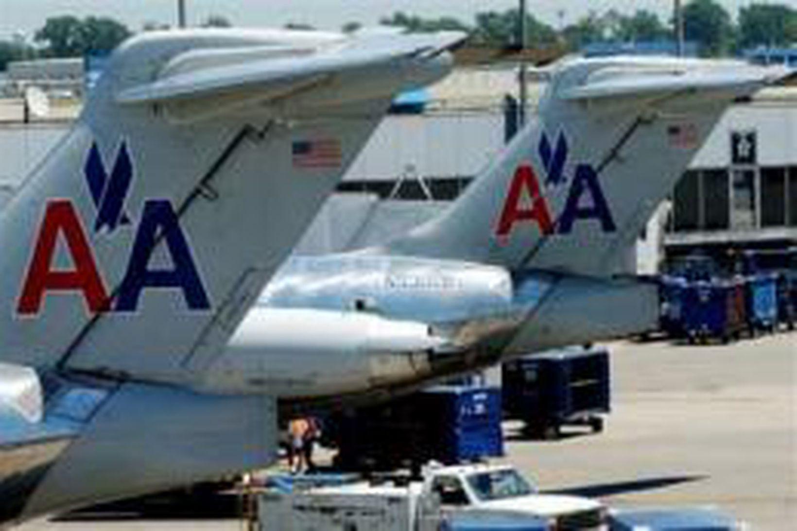 Þotur American Airlines.