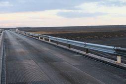 Land Cruiser-jeppinn keyrði fram af brúnni Súlu yfir Núpsvötn 27. desember.