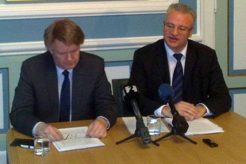 Tryggvi Gunnarsson og Páll Hreinsson sitja í rannsóknarnefnd Alþingis.