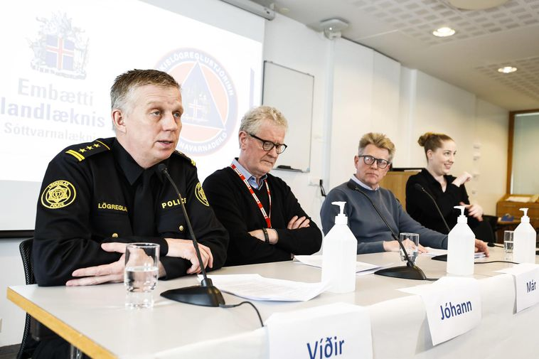 From a press conference, held by health authorities earlier this week.