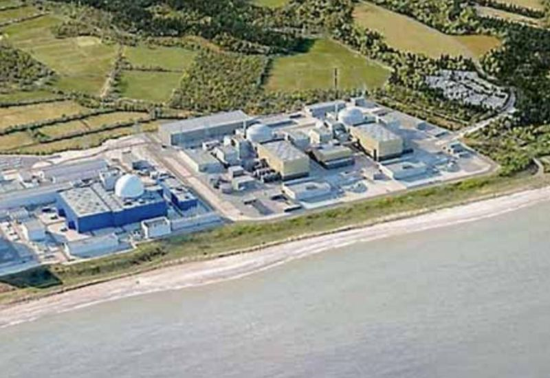 A computer-generated image of the proposed Sizewell C.