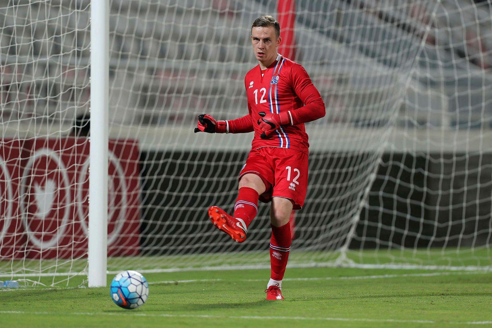 Ögmundur Kristinsson er í röðum Olympiacos.