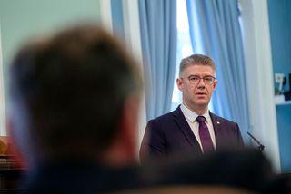 Gunnar Bragi Sveinsson, þingflokksformaður Miðflokksins.