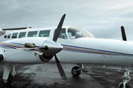 Cessna-flugvél.