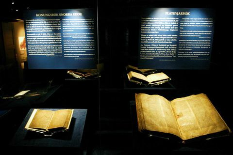 The Grágás manuscript dates back to 1250, it's preserved in Árnastofnun in Reykjavik.