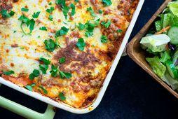 Ómótstæðilegt lasagna.