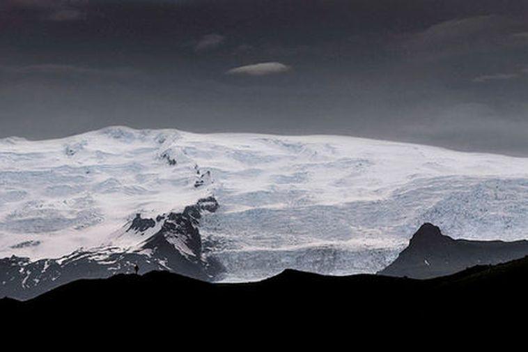 Vatnajökull glacier.