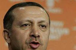 Forsætisráðherra Tyrklands, Recep Tayyip Erdogan.
