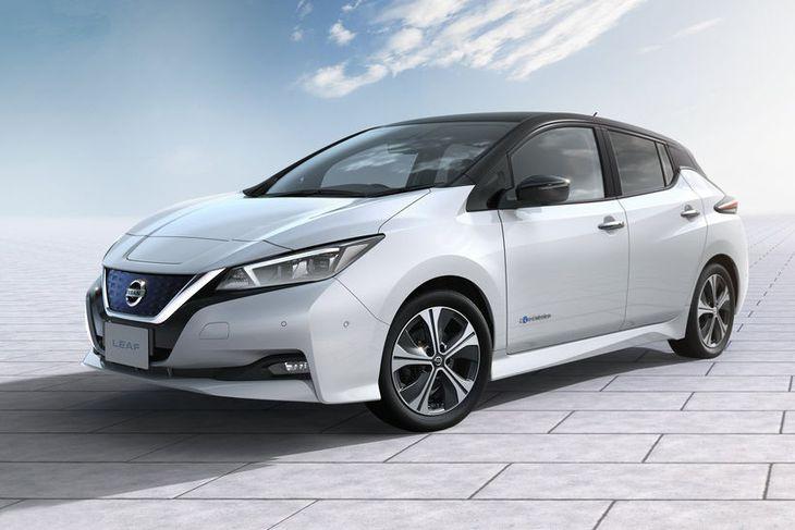 Nissan Leaf rafbíllinn.
