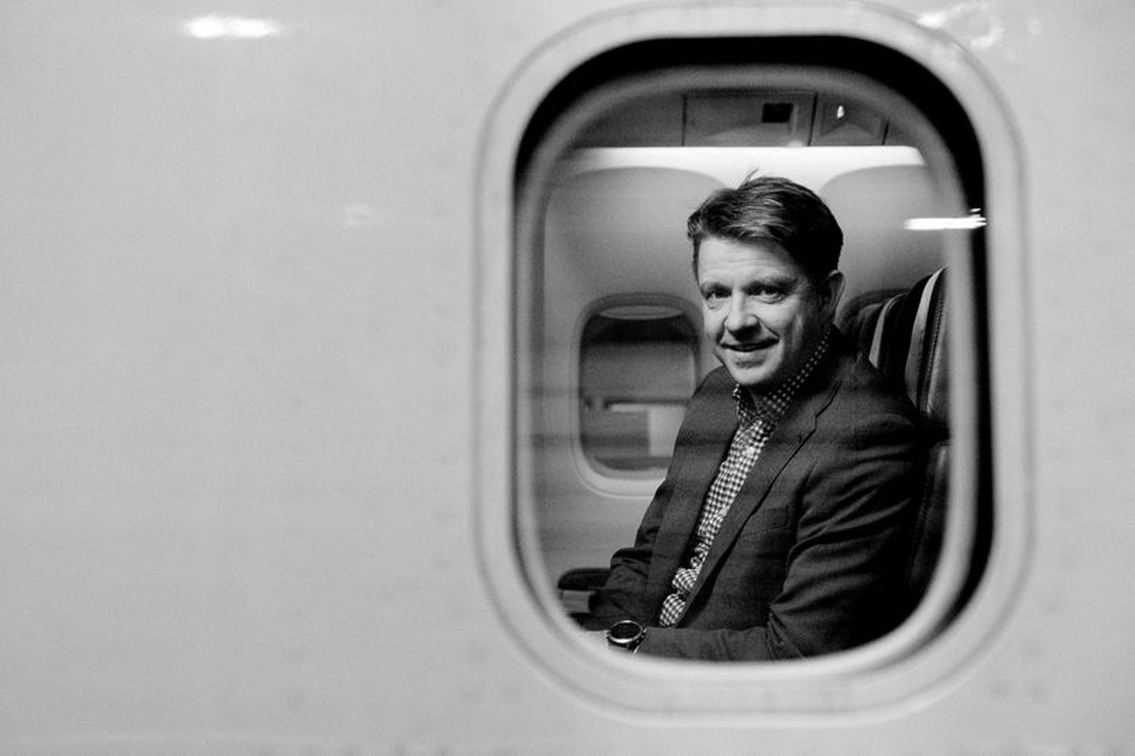Bogi Nils Bogason, forstjóri Icelandair, setur stefnuna á níu ferðir …