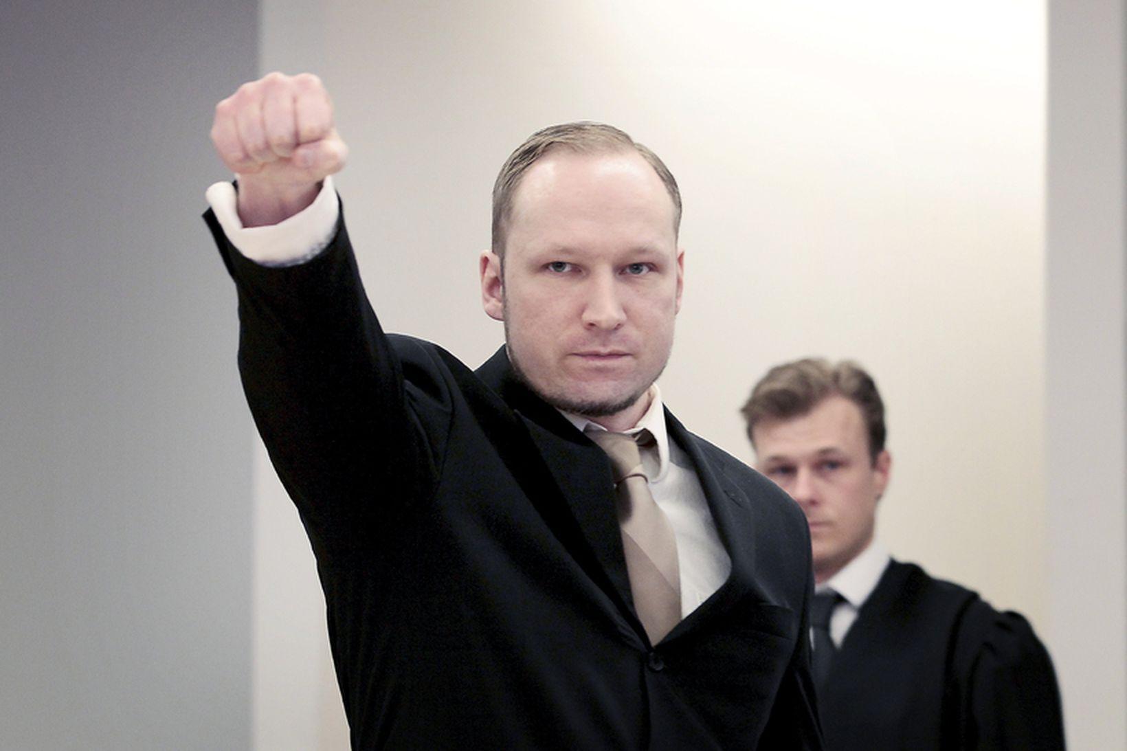 Fjotolf Hansen, betur þekktur sem Anders Behring Breivik, skæðasti fjöldamorðingi …