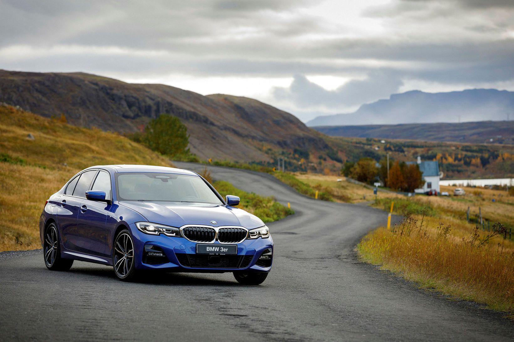 Nýjasta kynslóð BMW 3 er hlaðin tækninýjungum. Meðal annars er …