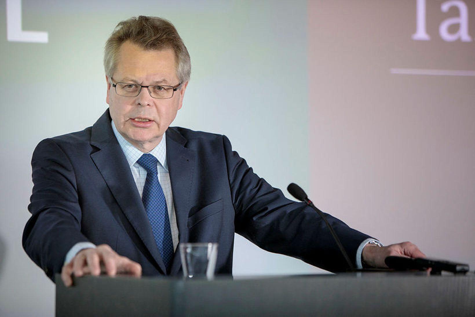 Már Guðmundsson, bankastjóri Seðlabanka Íslands.