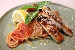 Spaghettí milanese.