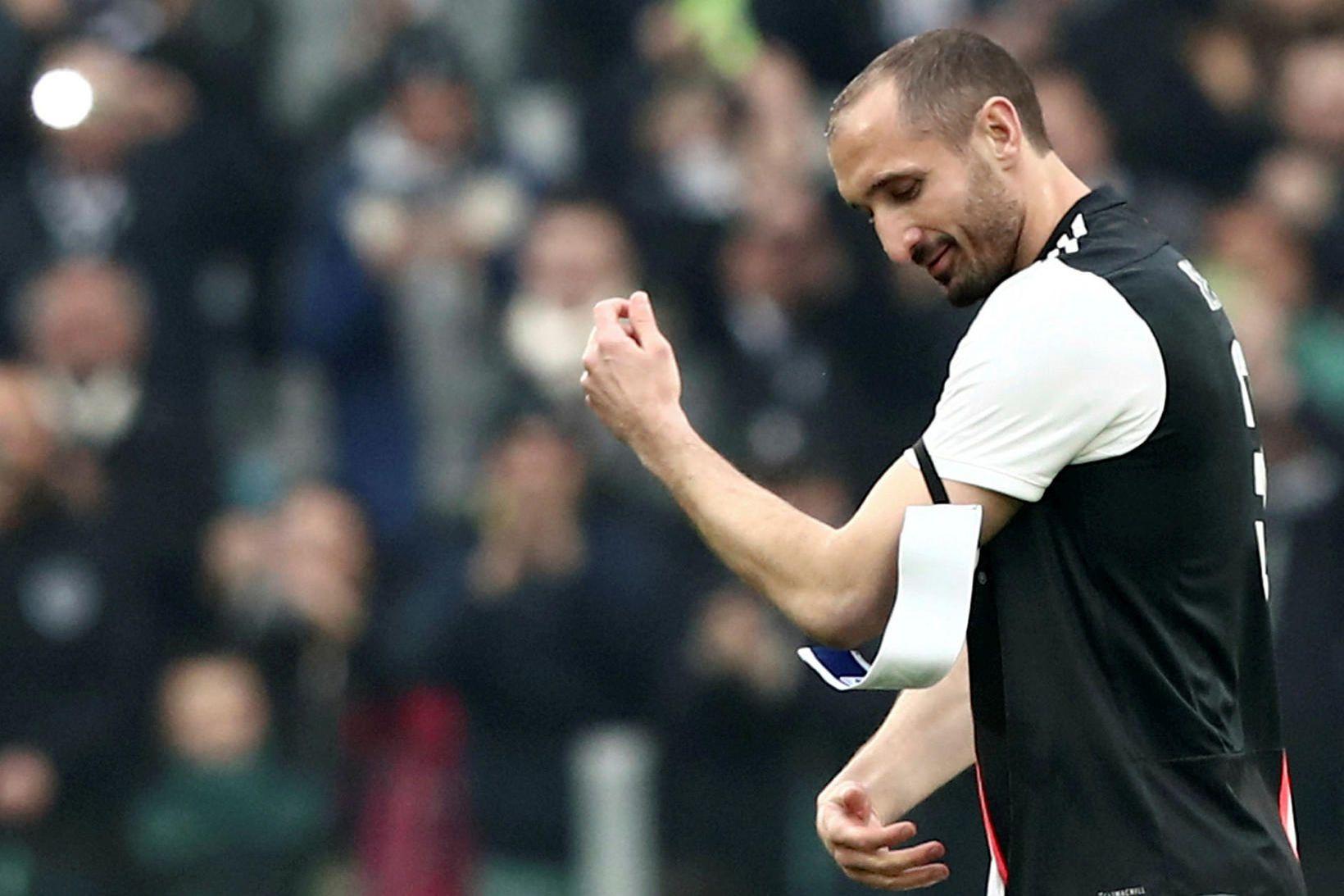 Giorgio Chiellini hefur leikið með Juventus frá árinu 2005 og …
