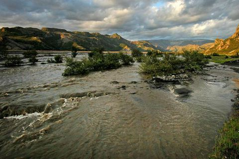 Rivers near Þórsmörk can pose a great risk to travelers at this time of year.
