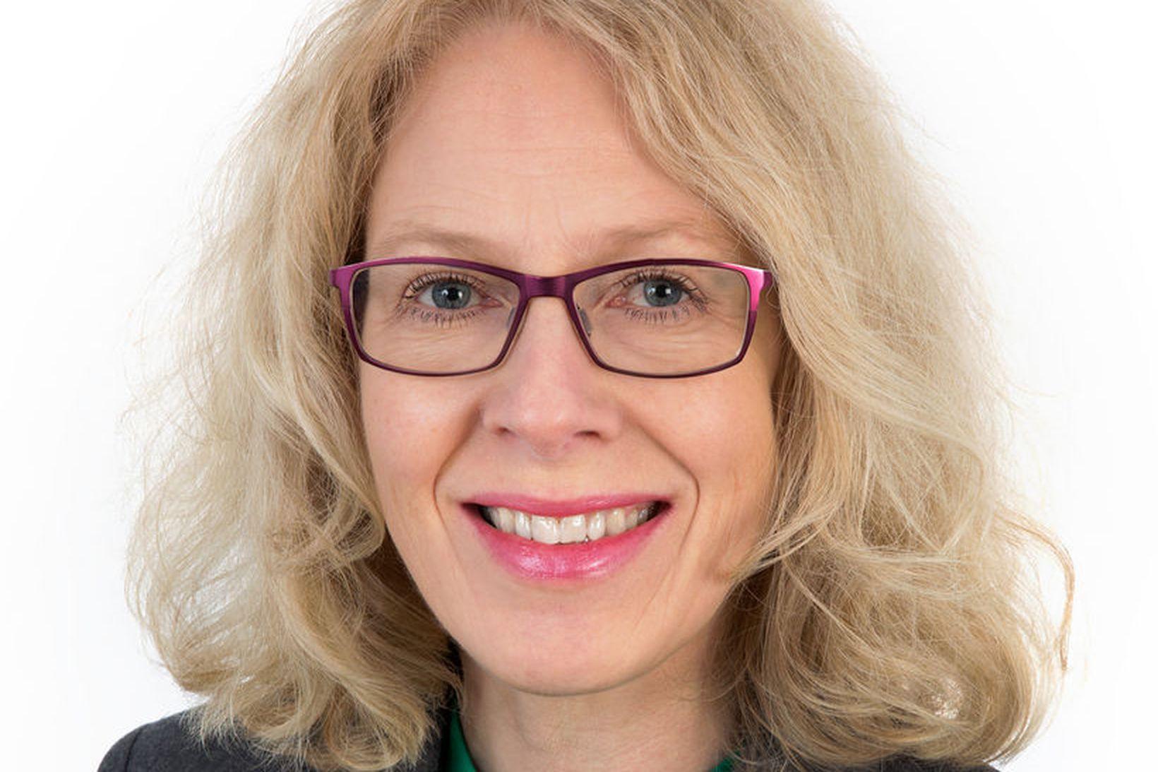 Svana Helen Björnsdóttir er nýkjörinn formaður Verkfræðingafélags Íslands.