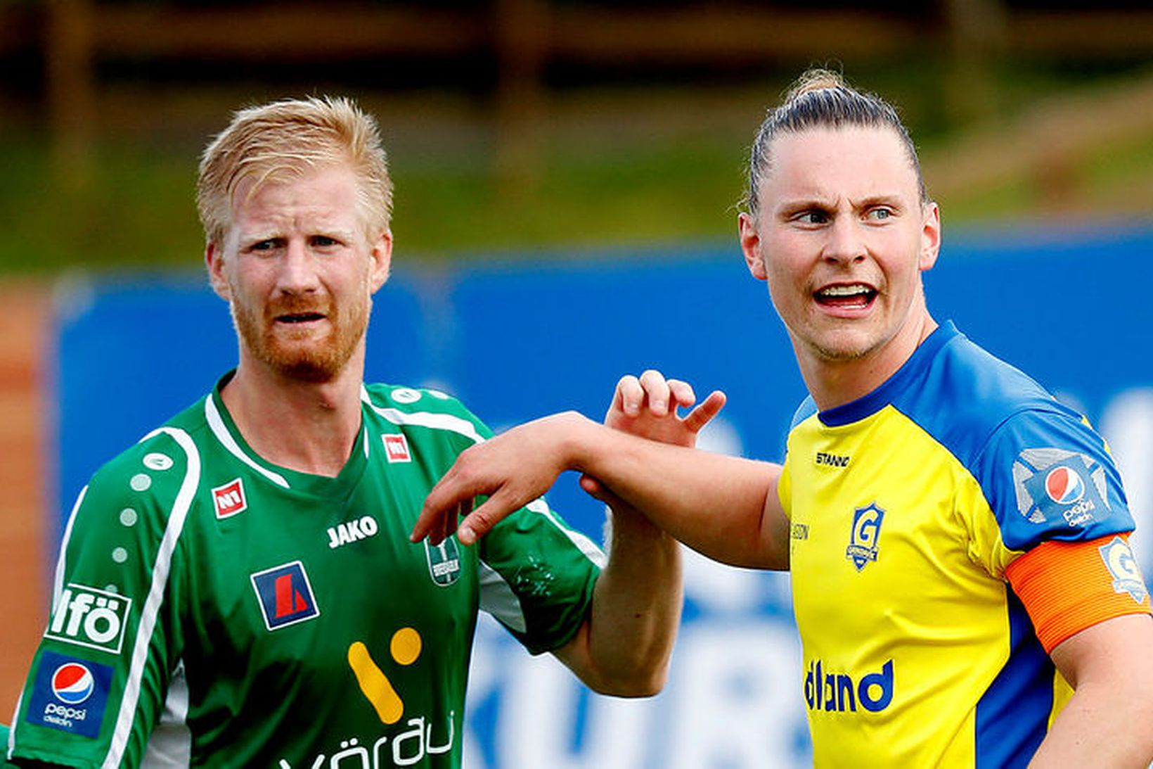 Thomas Mikkelsen og Gunnar Þorsteinsson.