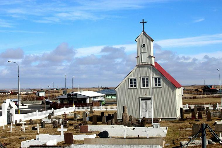 Tragedy strikes in Stokkseyri, a tiny fishing village in South Iceland. The photo is of …