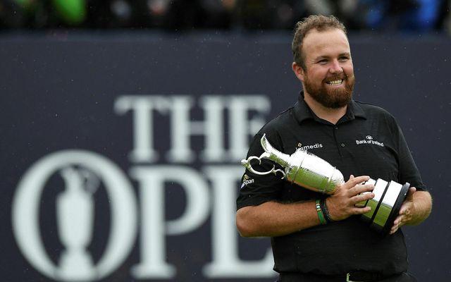 Írinn Shane Lowry fór með sigur af hólmi á Opna-mótinu í golfi á síðasta ári.