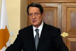 Nicos Anastasiades, forseti Kýpur.