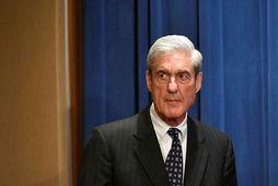 Robert Mueller, sérstakur saksóknari FBI, ber vitni hjá dómsmála- og njósnanefnd fulltrúadeildar Bandaríkjaþings í dag.