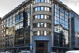 Bygging Eftirlitsstofnunar EFTA, ESA, í Brussel.