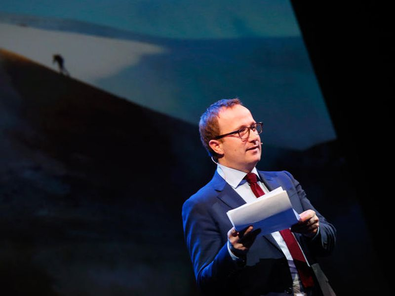 Andri Snær Magnason, writer and environmental activist announced that he's running for President of Iceland this afternoon.