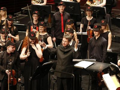 ISO Youth Orchestra at Dark Music Days