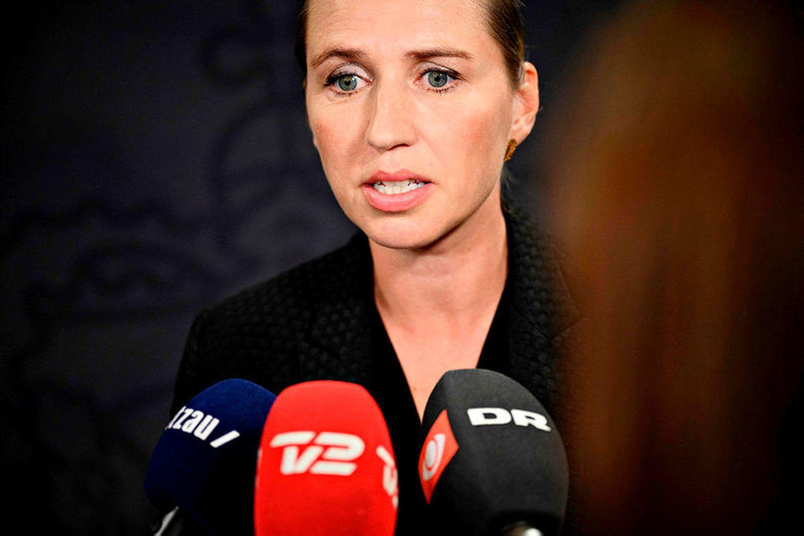 Mette Frederiksen, forsætisráðherra Danmerkur.