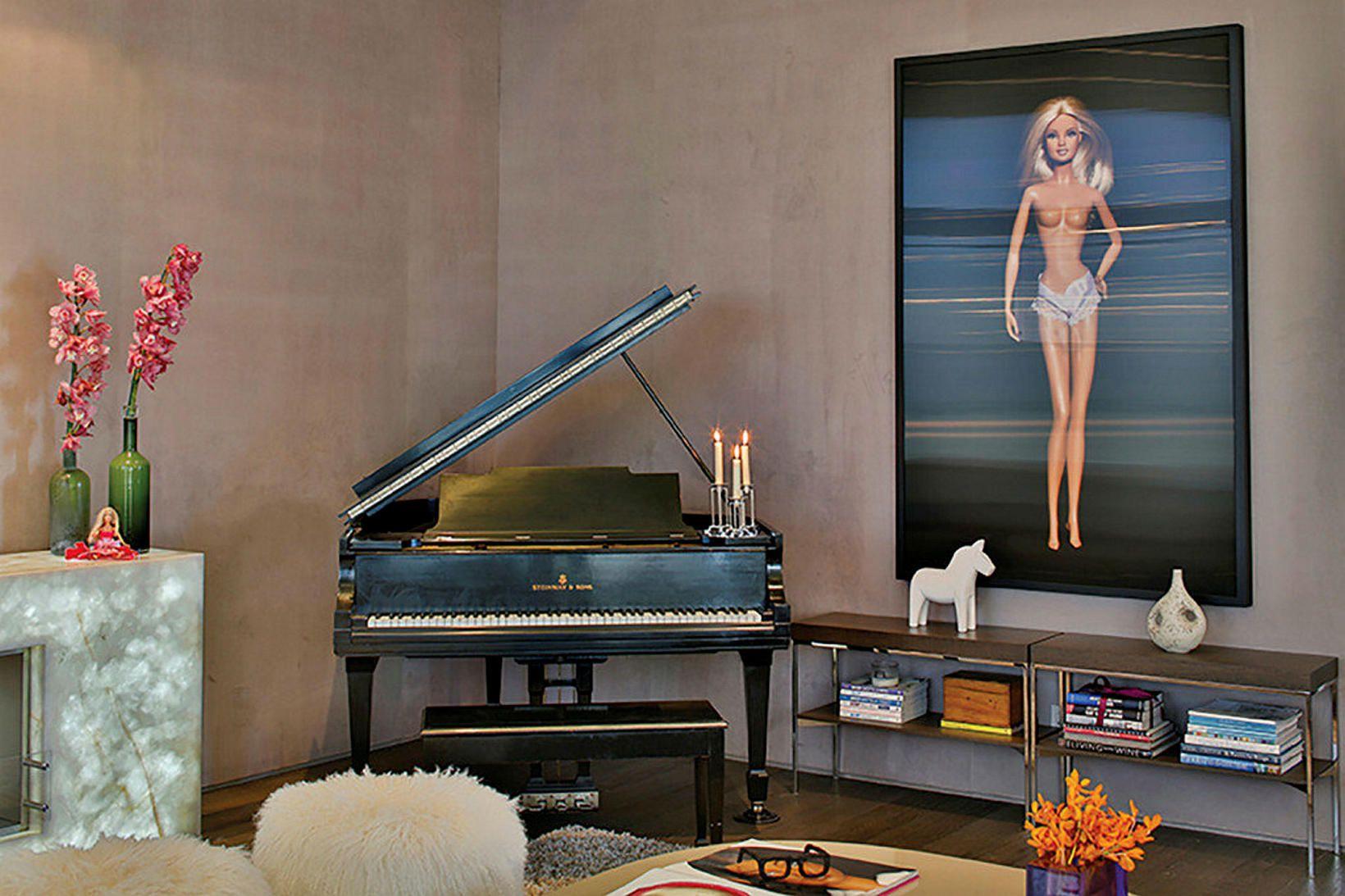 Nicole Sassaman hefur sett barbí-íbúð sína í Los Angeles á …