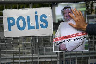 Jamal Khashoggi var myrtur á ræðismannaskrifstofu Sádi-Arabíu í Tyrklandi í október.