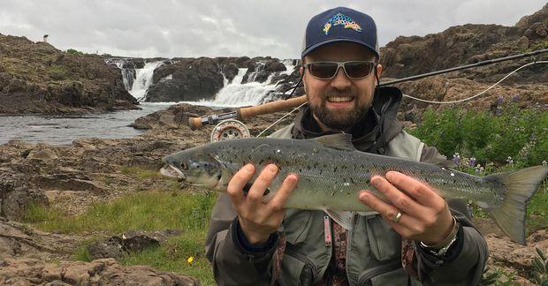 Sævar Þór Jónsson er mikill veiðimaður. Hann gerir mikið af því að vera úti í …