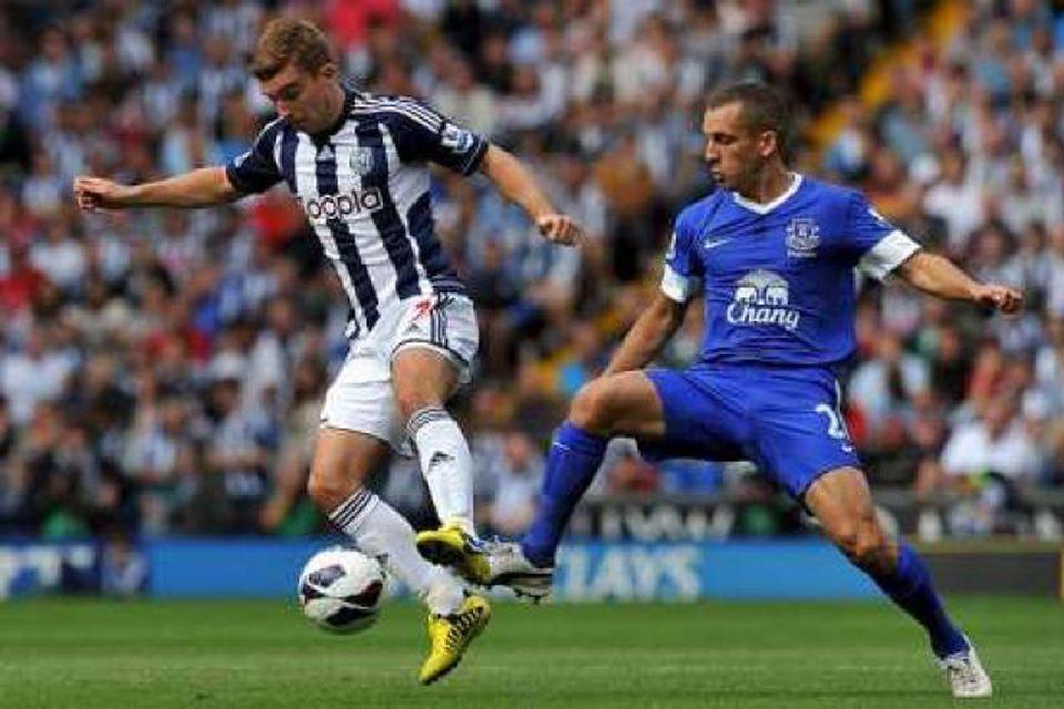 Everton er í heimsókn hjá West Brom.
