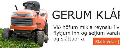 Mynd af JS ljósasmiðjan ehf - Sláttuvélamarkaðurinn