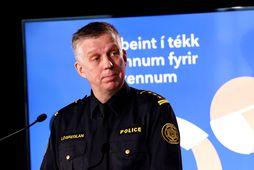 Víðir Reynisson, yfirlögregluþjónn almannavarnasviðs ríkislögreglustjóra.