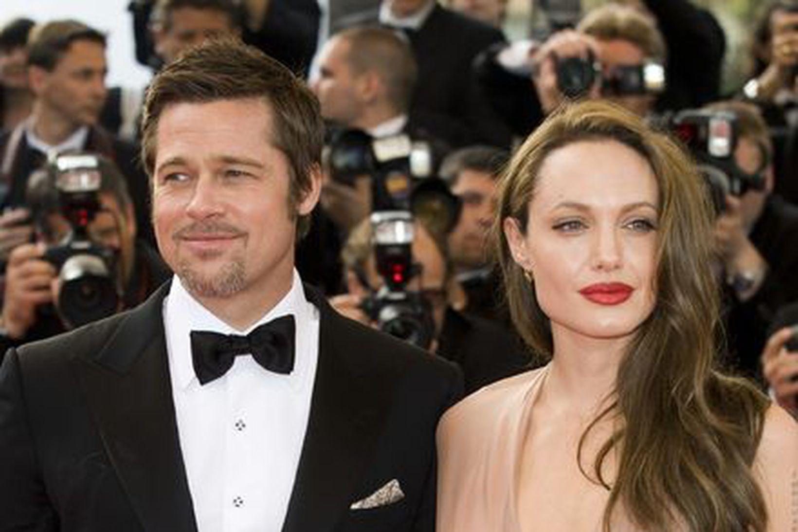 Samskiptin hafa aldrei verið betri á milli Pitt og Jolie …