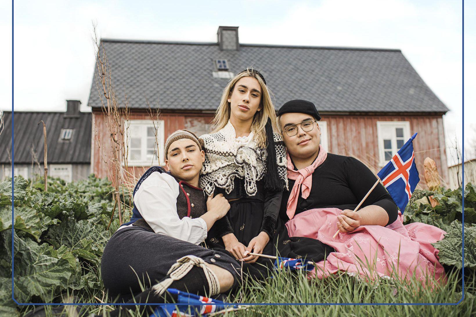 Bassi Maraj, Patrekur Jaime og Binni Glee.