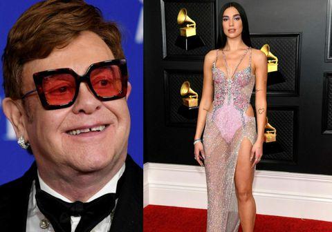 Elton John og Dua Lipa sameinuðu krafta sína í laginu Cold Heart sem er að slá í gegn hér á landi sem og annarsstaðar en lagið er hástökkvari vikunnar og stekkur upp um heil 36 sæti.