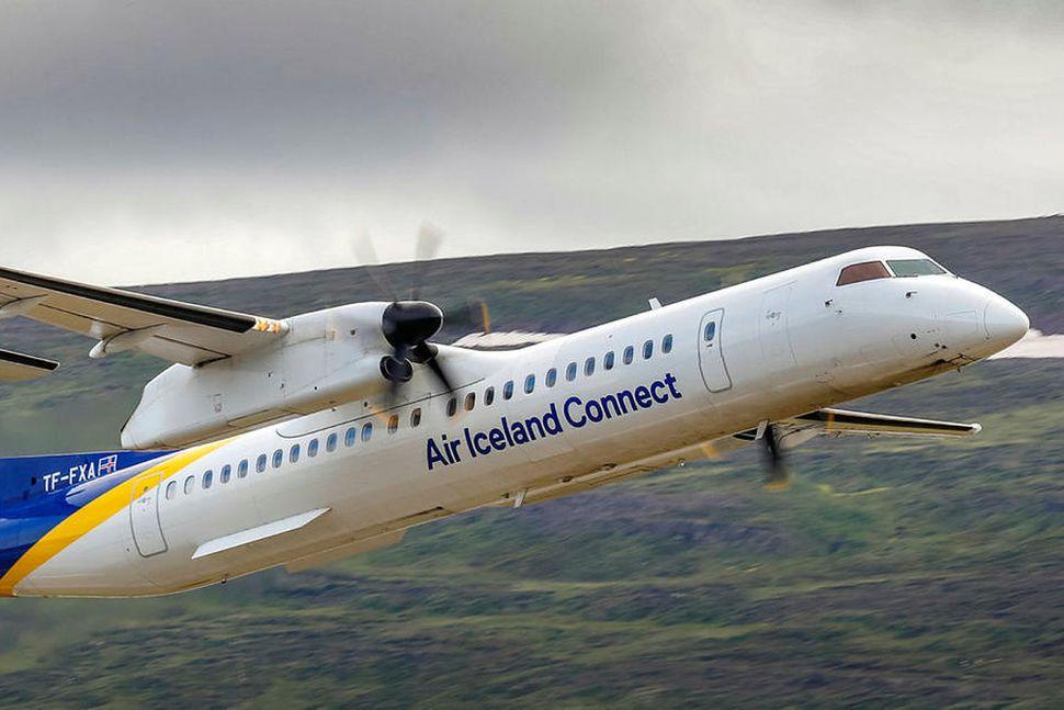 Ein af flugvélum Air Iceland Connect.