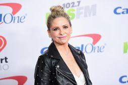 Sarah Michelle Geller barðist við vampírur á skjánum í þó nokkurn tíma, Buffy the Vampire …