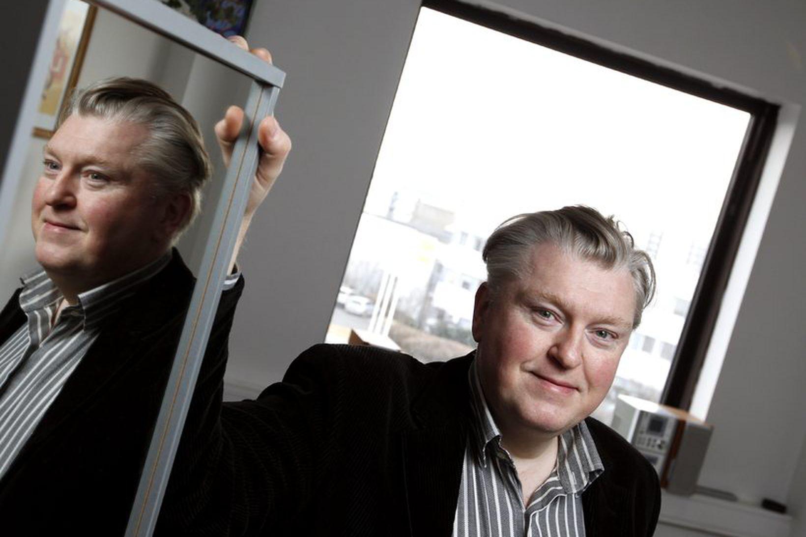Gunnar Guðbjörnsson, annar skólastjóra Söngskóla Sigurðar Demetz.
