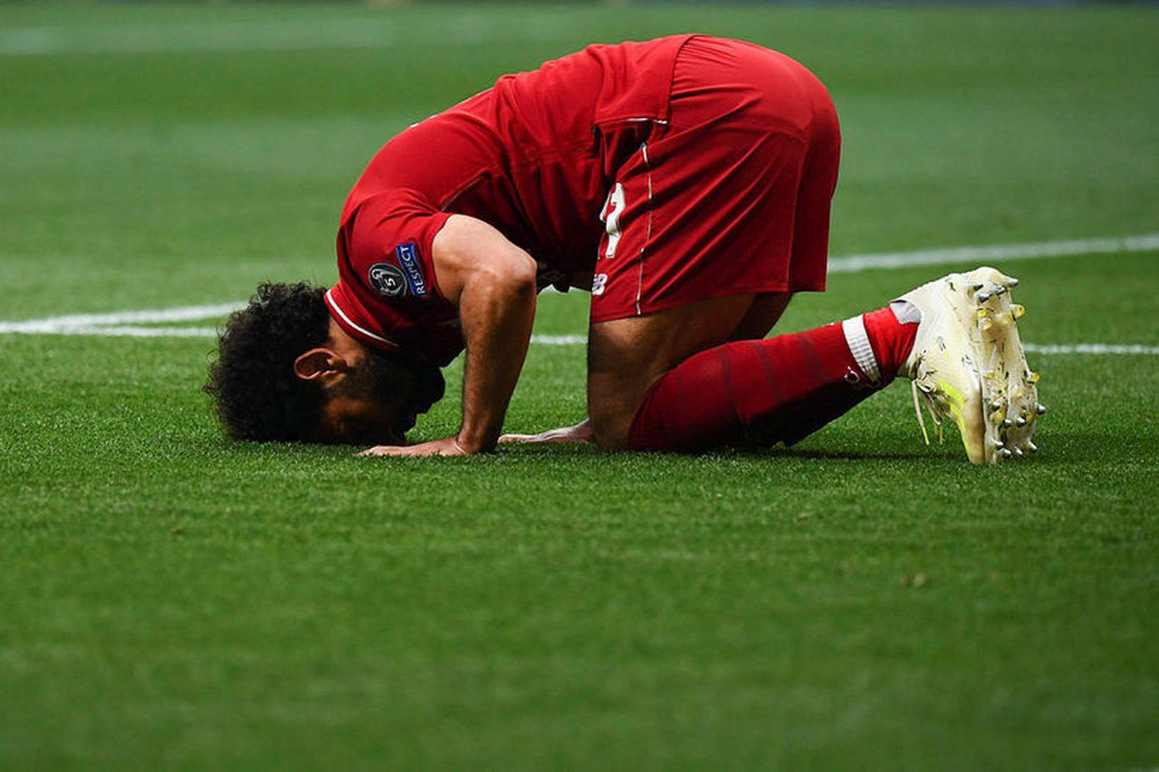 Samuel Eto'o vill sjá Mohamed Salah yfirgefa Liverpool og semja …