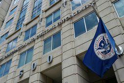Höfuðstöðvar Immigration and Customs Enforcement (ICE) í Washington, DC.